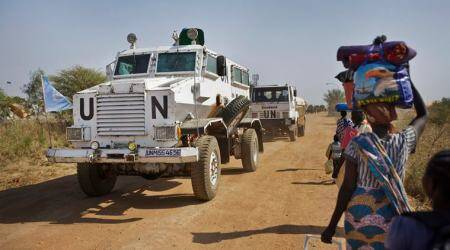 South Sudan arms embargo, South Sudan crisis, South Sudan violence, South Sudan arms ban, South Sudan UN ban, United Nations, South Sudan news, world news, latest news, indian express