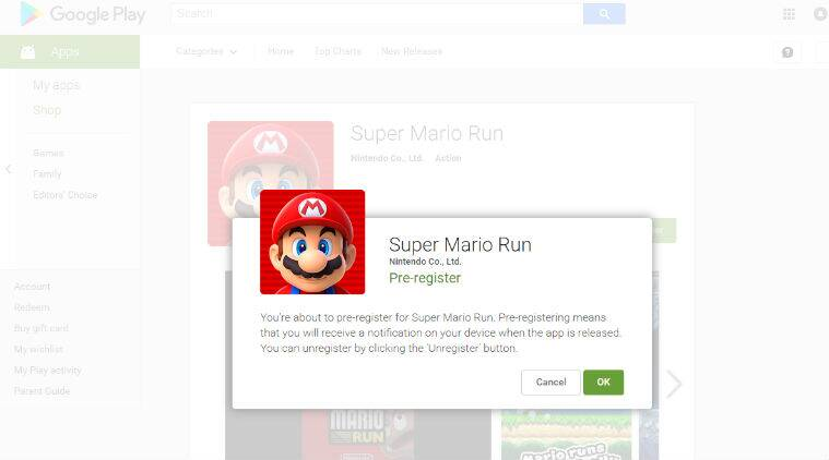 Super Mario run, Nintendo, Super Mario Run Android, Super Mario Run APK, Super Mario Run India, Pre register Super Mario Run, Super Mario Run Google Play, Super Mario Run Download, pre register super mario on Android, Super mario run pre registration, super mario run Android launch date, Super Mario Run APK download, Super Mario Run Download, technology, technology news