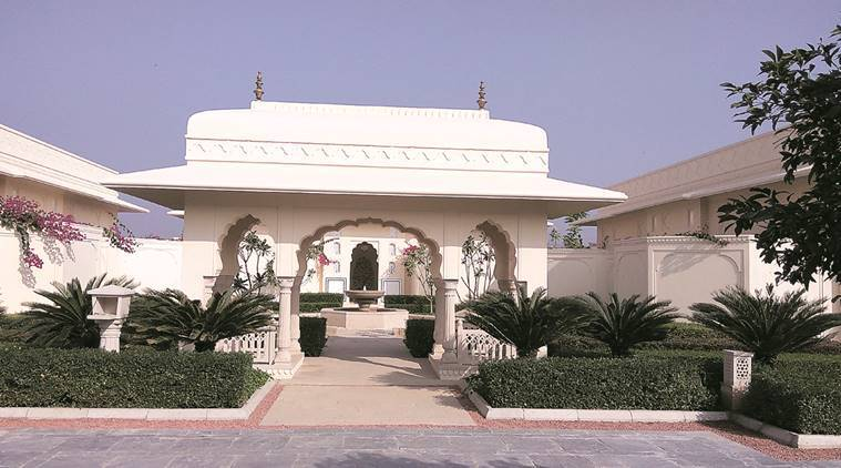 punjab, punjab elections, Sukhbir Badal, Oberoi Sukhvilas Resort & Spa, sukhbir villa, sukhbir villa tourism, indian express news, india news