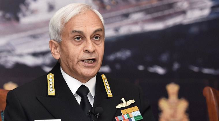 Indian Navy, Navy, Admiral Sunil Lanba, National Defence Academy, India news, latest news, indian express