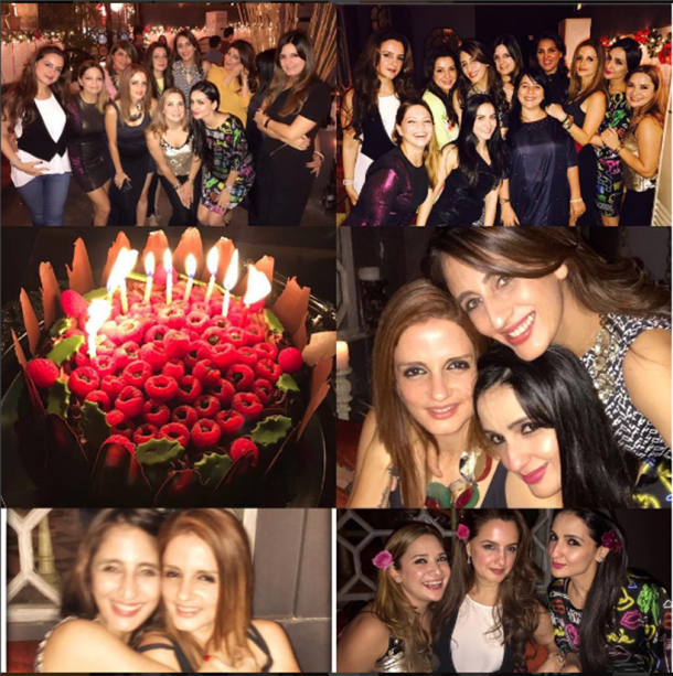 bollywood christmas, christmas bollywood, bollywood celebs christmas, Sussanne Khan christmas, sussane khan party pictures