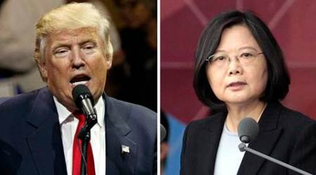China urges U.S. to block transit by Taiwan president