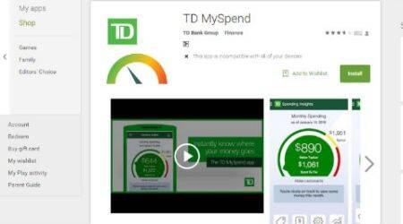 MySpend banking app will cut customer's spending