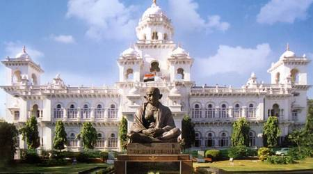 Two Congress MLAs disqualified, all legislators suspended in Telangana Assembly