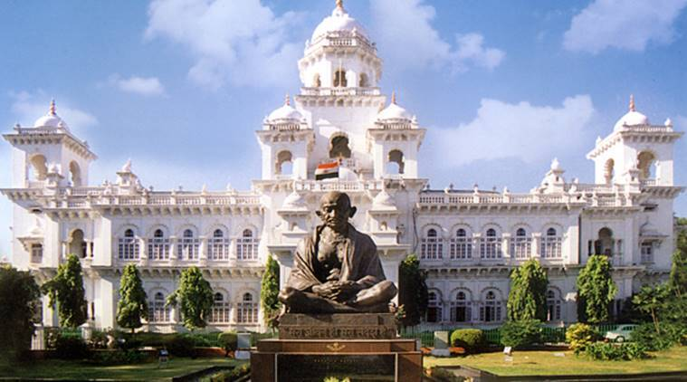 Two Congress MLAs expelled from TelanganaAssembly
