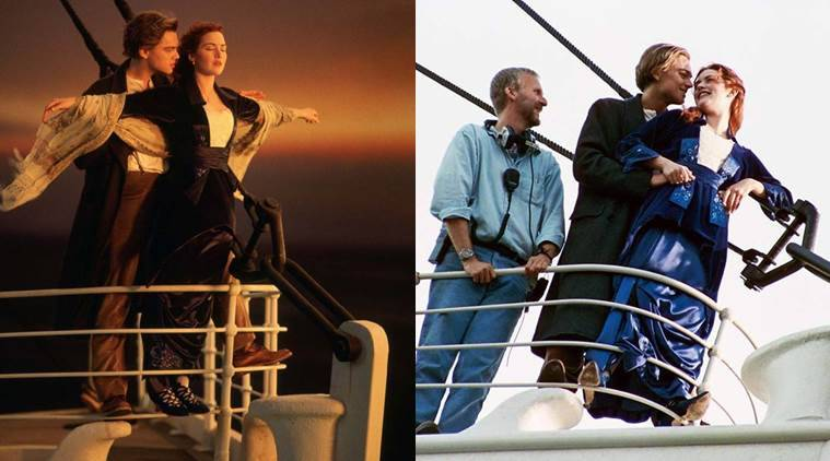 titanic s behind the scene images are as amazing as the leonardo di