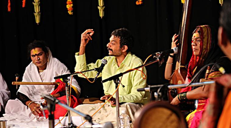 Carnatic music, hindustani music, TM Krishna, musician TM Krishna, TM Krishna tour, hinduastani music lecture, transgender musical community,