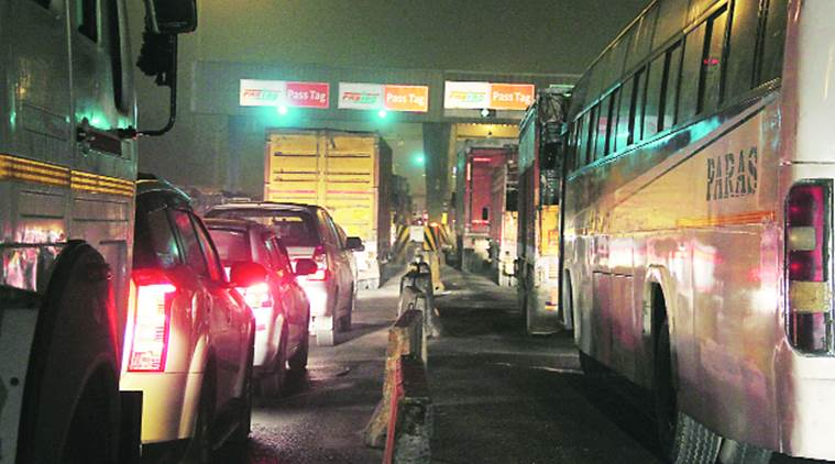 Toll plaza employee manhandled, another critically injured in