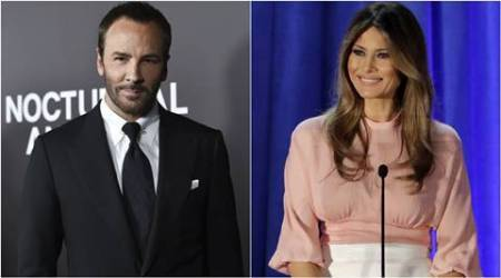 tom ford, melania trump, tom ford melania trump, marc jacobs, sophie theallet, donald trump, us elections, michelle obama, hillary clinton, indian express, indian express news