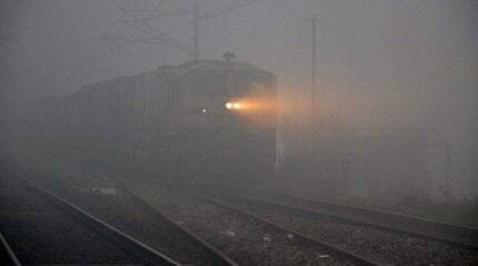 Delhi: 53 trains running late, 13 cancelled due to fog