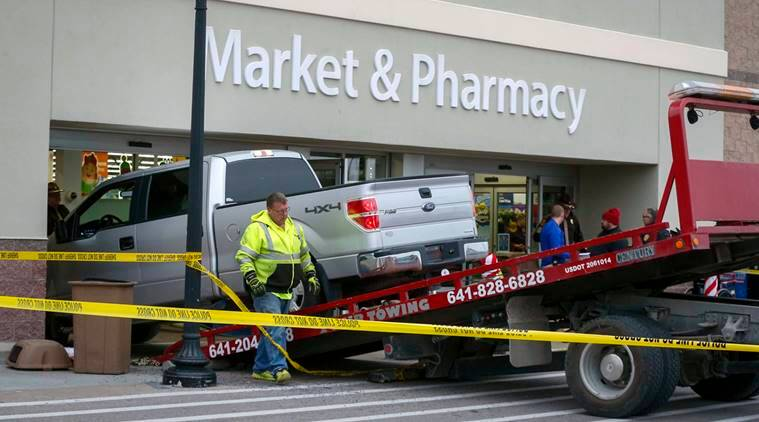 walmart crash, car drives into walmart, walmart, wal mart, wal-mart, walmart death, wal mart death, wal-mart death, world news