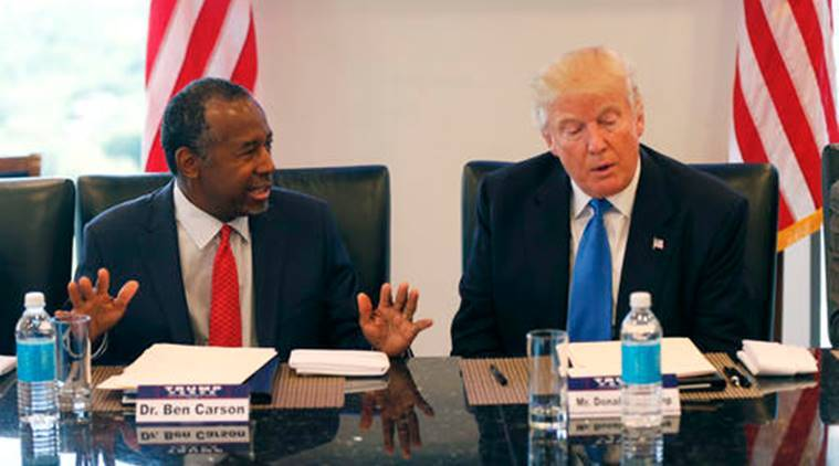Donald trump, Trump, US, United ststes, Donald trump administration, Trump administration, US housing and urban development secretary, Ben Carson, Nikki Haley, Trump cabinet, US news, world news
