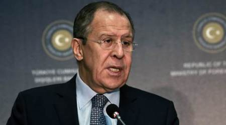Sergei Lavrov, Russian foreign minister Sergei Lavrov, foreigh minister russia Sergei Lavrov, Russia foreign minister, foreign minister Russia, Syria, Syria condition, Moscow meeting, meeting in Moscow, Moscow, Russia, world news, Indian Express