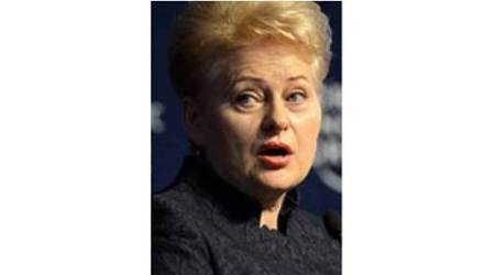 Dalia Grybauskaite, NATO, US Lithuania, Lithuania US NATO, news, latest news, Lithuania news, US news, world news, international news
