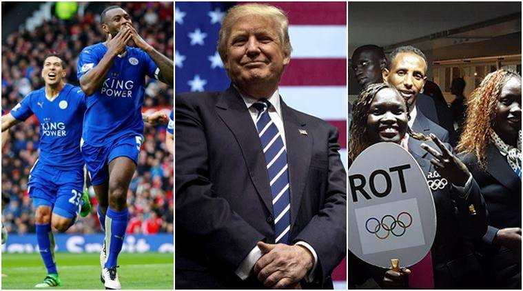 2016 yearender, 2016, 2016-year of underdogs, Donald Trump, Leicester City, Cristiano Ronaldo, Portugal, Juan Manuel Santos, Brexit, Chicago cubs, Rio Olympics, Indian Express