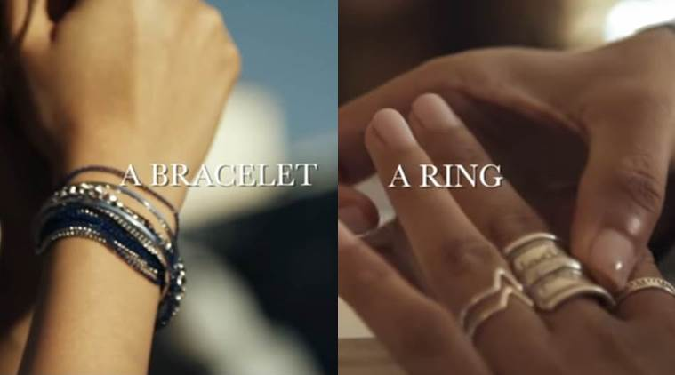 When it comes to accessories, keep it simple. (Source: YouTube grab)