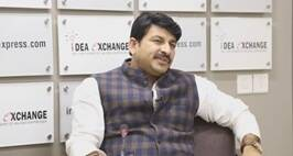 Idea Exchange With Manoj Tiwari