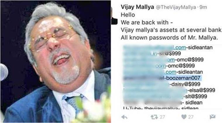 Twitter, Twitter account hacked, Rahul Gandhi twitter hacked, Barkha Dutt twitter, Legion, legion hacking group, legion twitter, Barkha Dutt Twitter hacked, Vijay Mallya Twitter hacked, hacked twitter accounts india, india news