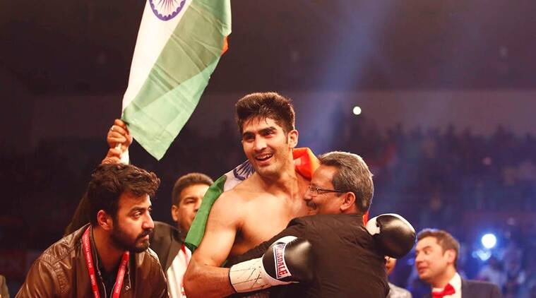 Image result for No opponent coming through, Vijender Singh's next bout postponed