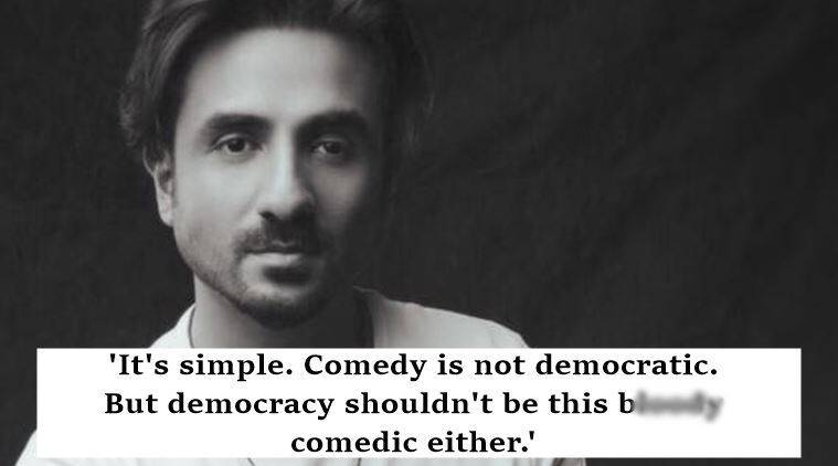 vir das, vir das comedy, vir das comedy shows, vir das facebook post, vir das facebook post on comedy, vir das viral facebook post, indian express, indian express news, indian express viral, trending