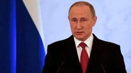 Vladimir Putin, Putin, Russian President, President of russia, Putin against artists, Putin on artists, Putin warns artists, world news, indian express news