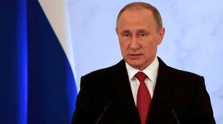 Vladimir Putin, Putin, Russia, Russia Vladimir Putin, Putin Russia, Russian president Vladimir Putin, Putin rise, Syrian refugees, Bashar al-Assad, us elections, us presidential elections, St. Petersburg, Putin St. Petersburg, Russia, Russia news, indian express news