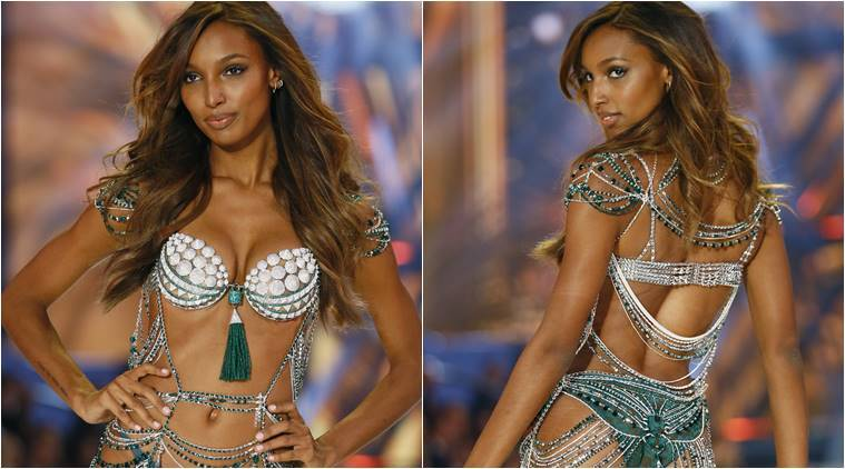 Victoria's Secret Fantasy Bra, Victoria's Secret Fantasy Bra 2016, Victoria's Secret fashion show 2016, Victoria's Secret angels, Victoria's Secret fashion show paris, Victoria's Secret Fantasy Bra 3 million, indian express, indian express news