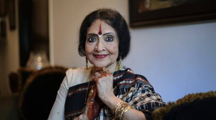 Film actress and politician Vyjayanthimala. Express photo by Oinam Anand. 08 August 2016 *** Local Caption *** Film actress and politician Vyjayanthimala. Express photo by Oinam Anand. 08 August 2016