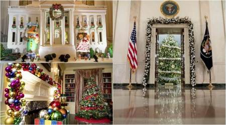 For the final Christmas of the Obamas at the White House, its 'The Gift of the Holidays' for all
