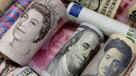 sterling, foreign exchange, world currency rates, dollar, US dollar, yen, euro, australian dollar, new zealand dollar, forex news, business news, world market, latest news, indian express