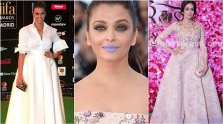 aishwarya rai bachchan, neha dhupia, sridevi, pooja hegde, worst dressed in 2016, worst dressed bollywood actresses in 2016, bollywood style, bollywood fashion, celeb fashion, indian express, indian express 2016