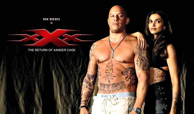 xxx: the return of xander cage rollista