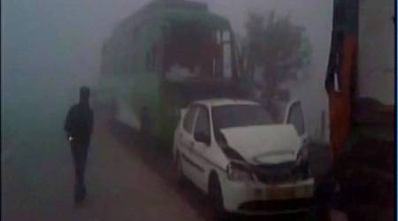 australian, yamuna expressway, road accidents, foreigner killed in india, agra, accident due to fog, indian express