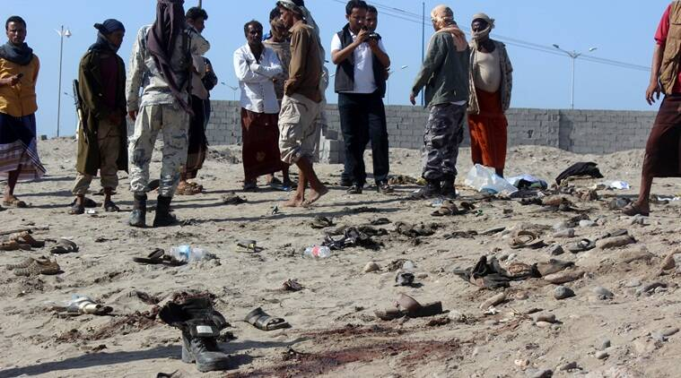 yemen, yemen suicide bombing, ISIS claim yemen, Islamic state, suicide bombing yemen, yemen IS, ISIS, ISIS yemen suicide bombing, Yemen soilders killed, latest news, latest world news