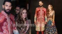 At Yuvraj Singh-Hazel Keech wedding reception, Bollywood made its presence felt too