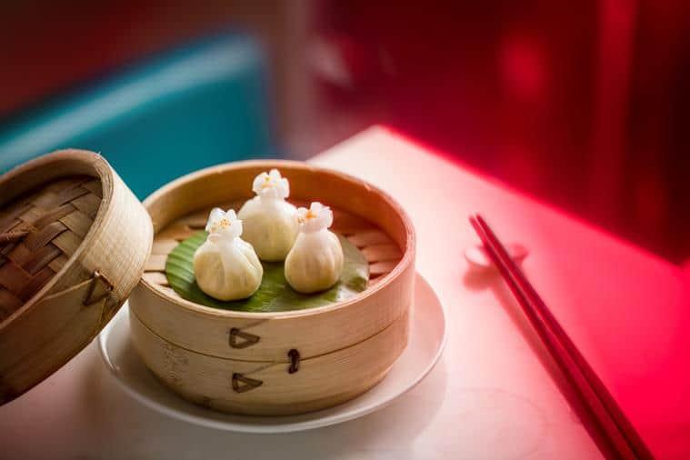 Truffle Dumpling at Yauatcha.