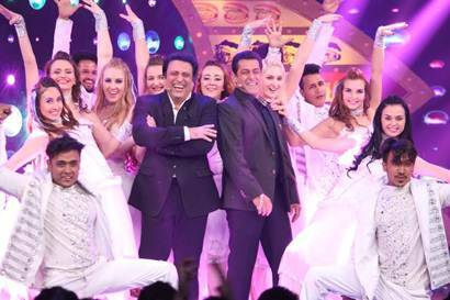 Bigg Boss 10 host Salman Khan bromances with Partner Govinda on Weekend Ka Vaar, see pics