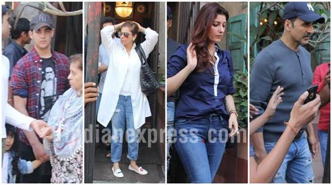 Akshay Kumar's pics with wife Twinkle Khanna and kids Aarav, Nitara are giving us family goals