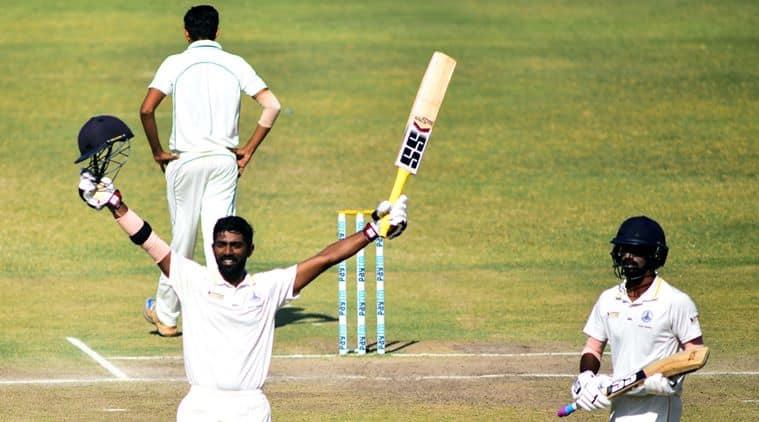 Ranjhi trophy, Ranji Trophy 2016, Ranji Trophy 2017, Abhinav Mukund, Baba Indrajith, Tamil Nadu, ranjhi final, Dinesh Karthik, tamil nadu spinner, indian express news, sports news, cricket news