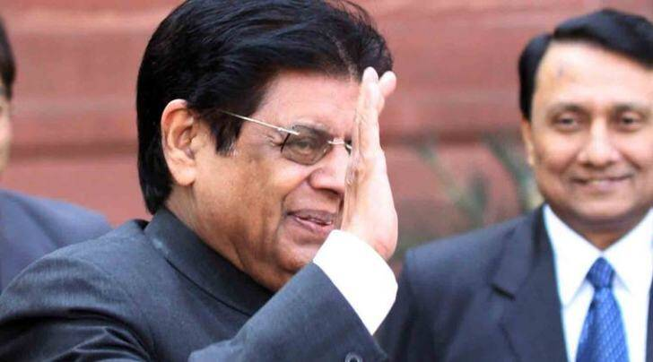 E Ahamed arrives to assume charge as MoS for External Affairs in New Delhi on Monday. *** Local Caption *** E Ahamed arrives to assume charge as MoS for External Affairs in New Delhi on Monday. Express photo by Prem Nath Pandey, 24 Jan 11