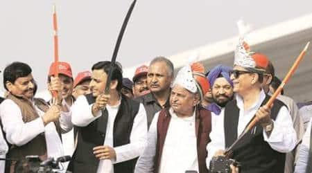 Samajwadi Party, Akhilesh Yadav, Mulayam Singh yadav, Mulayam singh, SP, samajwadi Party feud, Sp feud, Shivpal yadav, netaji, Uttar Pradesh, UP, Up elections, Uttar Pradesh assembly elections 2017, rajpal Yadav, BJP, congress, UP chief Minister, UP CM akhilesh Yadav, india news, indian express news