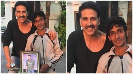 Akshay Kumar's fan comes on cycle all the way from Haridwar to meet him