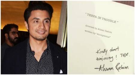 Ali Zafar reveals title of his first Pakistani film on Twitter