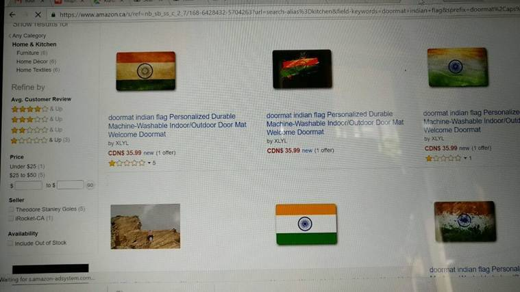 amazon, sushma swaraj