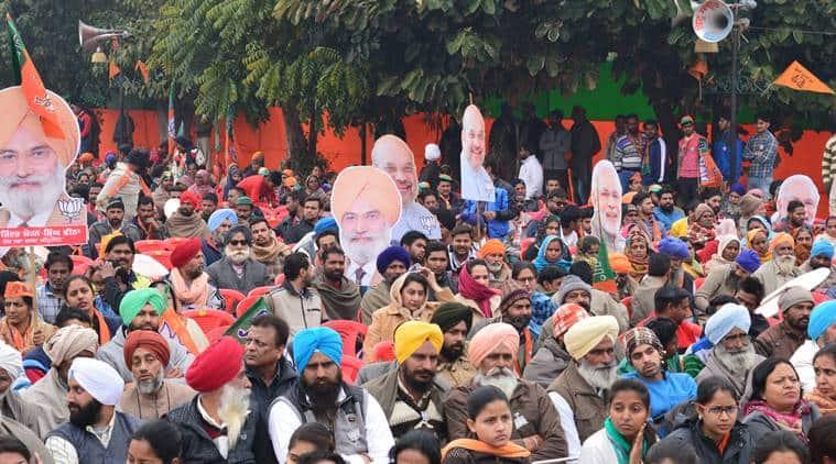 aamit shah, bjp rally, bjp punjab rally, punjab polls, punjab elections, punjab assembly elections 2017, india news, latest news