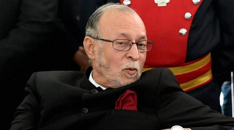 anil baijal, delhi lt governor, m m kutty, delhi SSB, delhi subordinate services selection board, delhi lg, north delhi, jarodha, service selection board, delhi govt, ssb selection process, delhi news