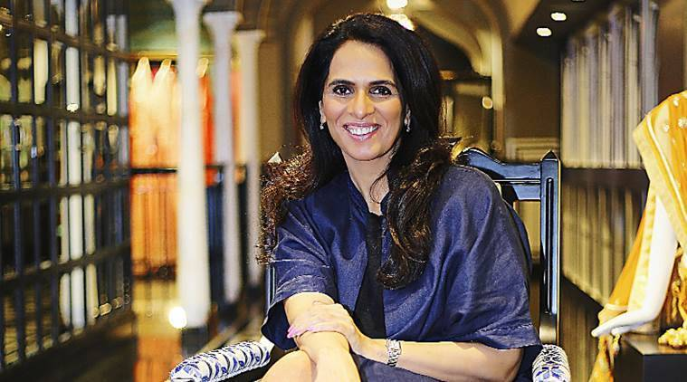 Golden Chance Designer Anita Dongre On Her First Ever Fashion Week Finale Lifestyle News The Indian Express