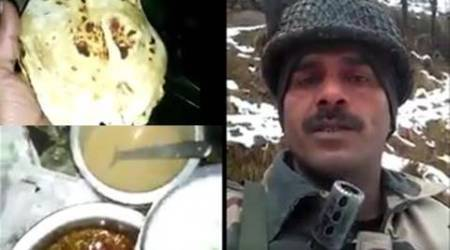 BSF man posts videos: Breakfast is half-burnt paratha and glass of tea