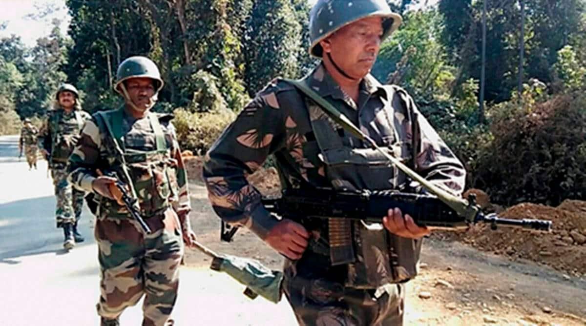 Assam Rifles, Militant attack on Assam Rifles, Assam Rifles Manipur, Assam Rifles camp Manipur, Northeast news, Indian Express