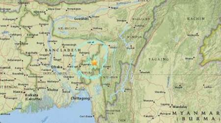 Epicentre in Tripura: One dead, 5 injured as 5.7 magnitude quake rocksNortheast